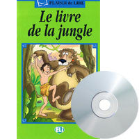 Le Livre de la Jungle, Book+CD (French)