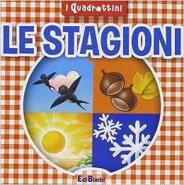 Le stagioni - i quadrattino (Itallian