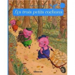 Les trois petits cochons - Three Little Pigs (French)