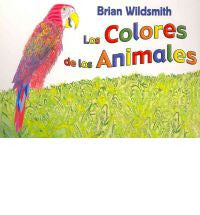 Los colores de los animales (Spanish-English)