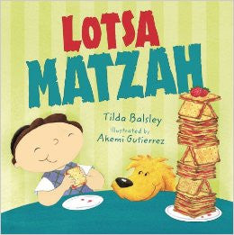 Children's book about Passover: Lotsa Matzah (English)