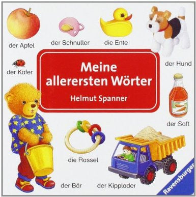 German Children's Book: Meine allerersten Wörter-My very first words (German)