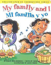 Mi Familia y yo - My family and I, CD (Spanish-English)
