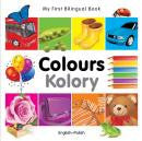 My first bilingual book - Colours (Polish-English)