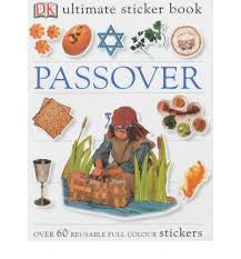 Children's Book on Jewish Holidays: Passover: Ultimate Stickers Book
