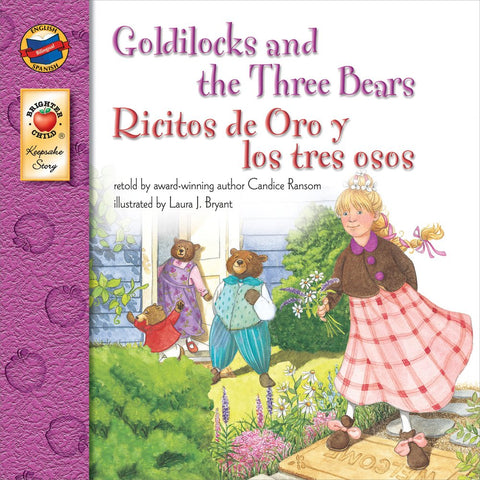 Ricitos d'oro y los tres ositos - Goldilock and three bears (Spanish-English)