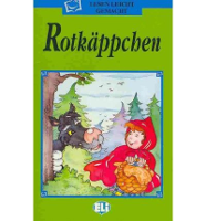 German Children's Book: The Red Riding Hood -Rotkappchen (German)