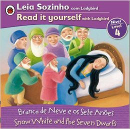 Snow White - Read it Yourself, level 4 (Portuguese-English)