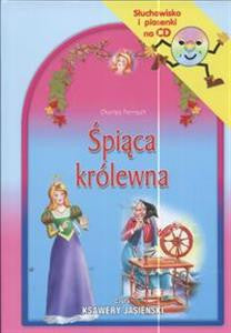 Spiaca krolewna-The sleeping beauty-Sluchowisko I piosenki,  Book+CD (Polish)