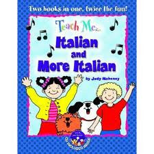 Teach Me Italian and More Italian , book + 2CD (Italian)