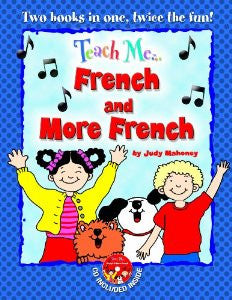 Teach Me French/More French, 2 CD pack (French)