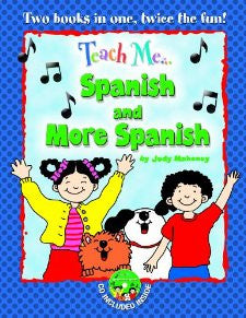 Teach me Spanish and more Spanish,book and CD (Spanish)