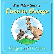 Curious George in Hebrew: Harpatkaotav haChadashot shel George haSakran-The New Adventures of Curious George (Hebrew)