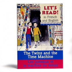 Let's read! - The twins and the time machine (French-English)