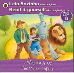 The Wizard of Oz - Read it yourself, level 3 (Portuguese-English)