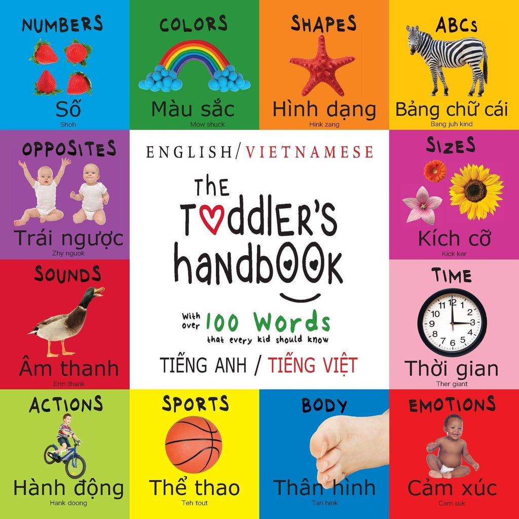 The Toddler's Handbook (Vietnamese-English)