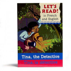 Let's read! - Tina la detective (French-English)