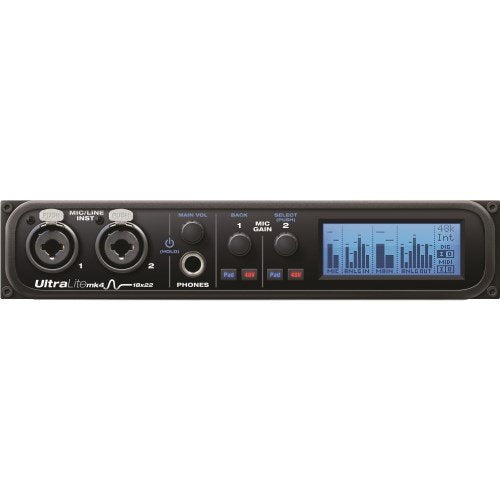 MOTU UltraLite-mk4 18x22 USB Audio Interface with DSP