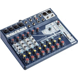 Soundcraft Notepad-12FX Small-Format Analog Mixing Console with Gator Cases 2519 Mixer Bag, Fastener Straps (10-Pack) & XLR Cable Bundle