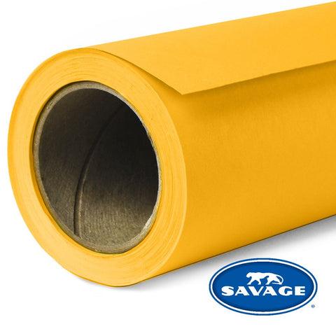 Savage Seamless Background Paper - #71 Deep Yellow (53 in x 18 ft)