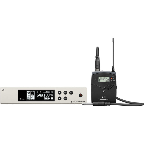Sennheiser ew 100 G4 Wireless Instrument System with Ci 1 Guitar Cable G: (566 to 608 MHz)
