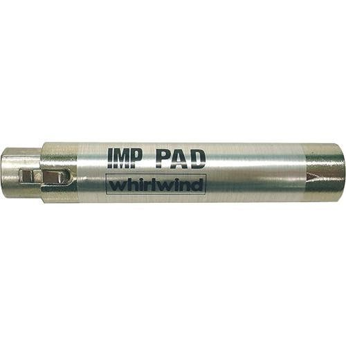 Whirlwind IMPAD20 - In-Line XLR Barrel Transformer with 20 dB Pad