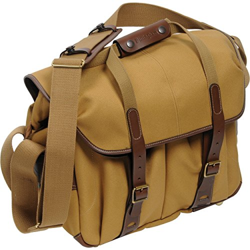 Billingham 307L Camera Bag (FibreNyte Khaki/Chocolate Leather)