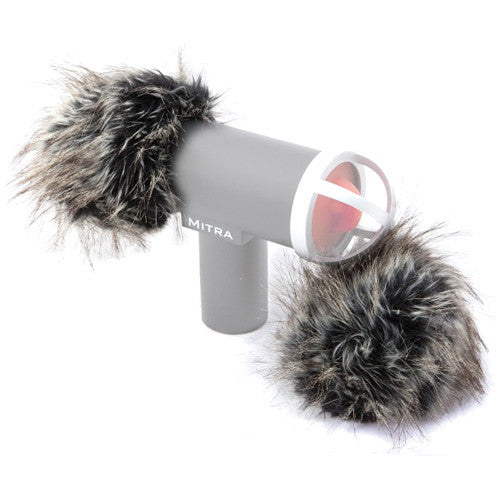 Mitra 3D Mic Gray Fox Windshield
