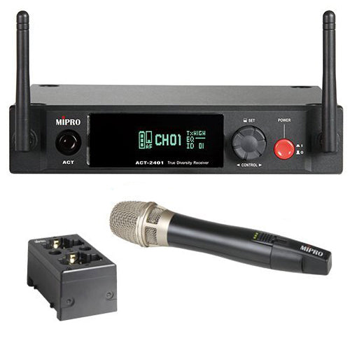 MIPRO True Digital Wireless Vocal System with Cardioid Condenser Handheld Microphone