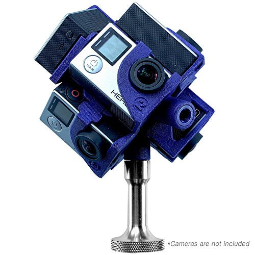 360RIZE Pro7 v2 360° Plug-n-Play Rig for GoPro HERO4/3+/3