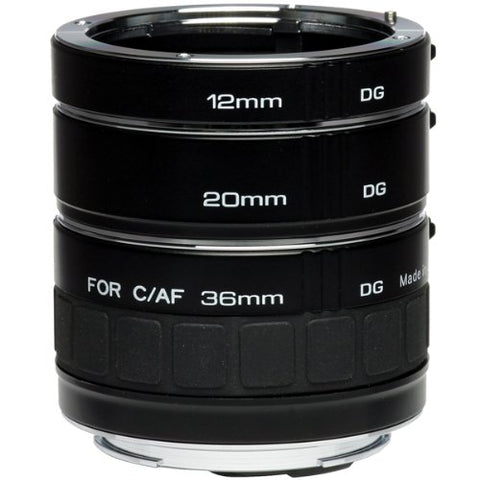 Kenko Auto Extension Tube Set DG for Canon EOS Lenses