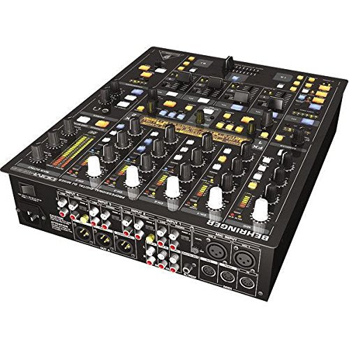 Behringer Digital Pro Mixer Ddm4000 Ultimate 5-Channel Digital Dj Mixer With Sampler, 4 Fx Sections, Dual Bpm Counters And Midi