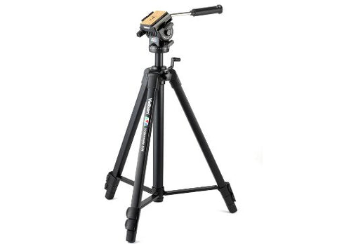 Velbon Videomate 638/F 3-Sec Heavy Duty Geared Tripod & Carrying Case