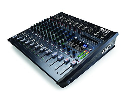 Alto Professional Live 1202 12-Channel Sound Reinforcement USB Mixer with Effects