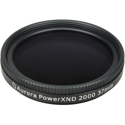 Aurora-Aperture 37mm PowerXND 2000 Variable Neutral Density 1.2 to 3.3 Filter (4 to 11 Stops)