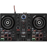 "Hercules DJ Control Inpulse 200 with /8"" Stereo Mini to Dual RCA Y-Cable (6') Bundle"
