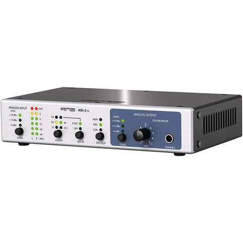 RME ADI-2 FS High-Precision 192 kHz 2-Channel AD/DA Converter