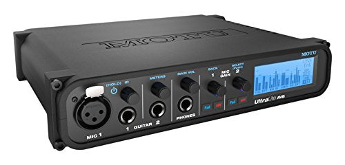 MOTU UltraLite AVB 18 x 18 USB Audio Interface