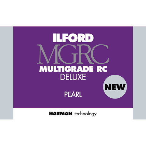 "Ilford MULTIGRADE RC Deluxe Paper (Pearl, 8 x 10"", 50 Sheets)"