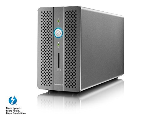 Akitio Thunder3 RAID Station 2-Bay Thunderbolt 3 RAID Array AK-T3RSAA0006Y00U_1