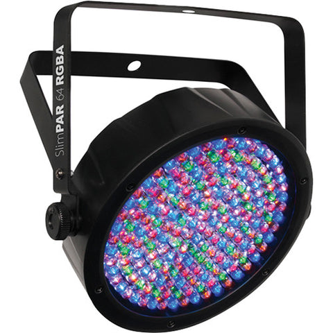 CHAUVET DJ SlimPAR 64 RGBA LED PAR Wash Light with DMX Control