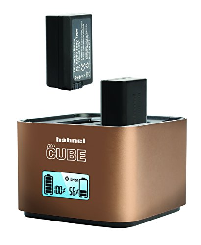 Hahnel ProCube Twin Charger for Sony & Olympus and AA Batteries