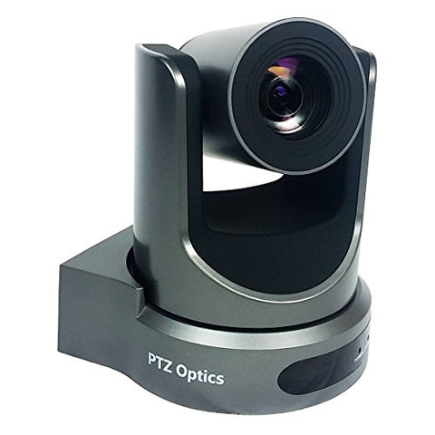 PTZOptics-20X-SDI GEN-2 PTZ IP Streaming Camera with Simultaneous HDMI and 3G-SDI Outputs - Gray