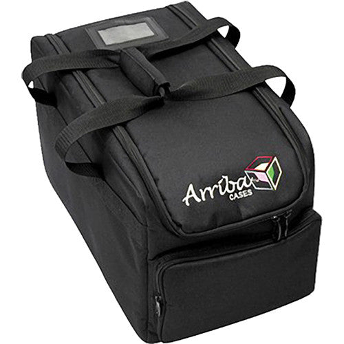 ARRIBA AC-410 Lighting Transport Case Flat/Slim Par Travel Bag | 11 x 18 x 11.5
