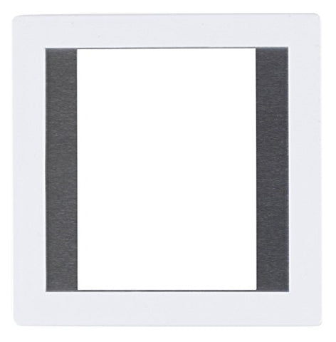 Gepe 45x60 (3mm Thickness)6 x 6cm Medium Format Anti-Newton Glass Slide Mount, 20 Pack (White)