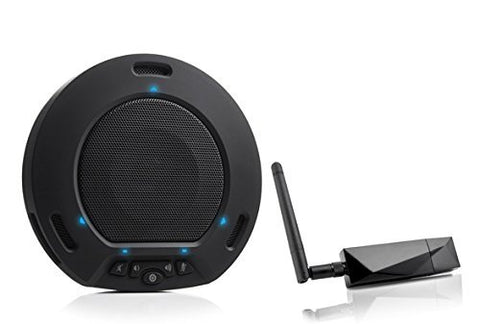 HuddlePod Air - Wireless Audio Conferencing - Black