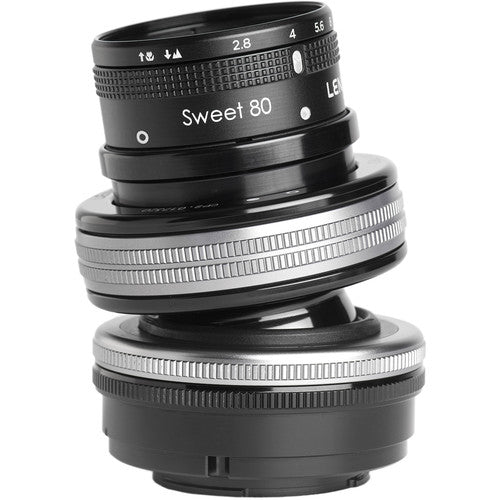Lensbaby Composer Pro II with Sweet 80 Optic for Micro 4/3