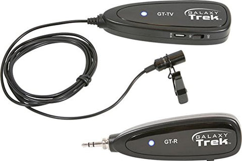Galaxy Audio GT-VX Trek 2.4GHz Mini WirelessLavalier Microphone System