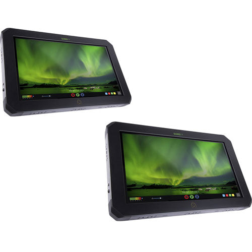 "Atomos 2 PACK Sumo 19"" Touchscreen On-Set and In-Studio 4K HDR Monitor Recorder, 1920x1200"