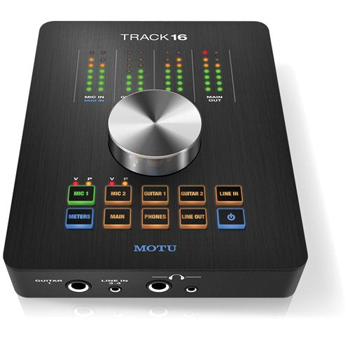 MOTU Track16 - Desktop Studio FireWire/USB 2.0 Interface